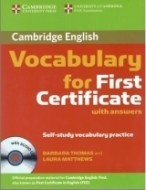 Cambridge Vocabulary for First Certificate with answers