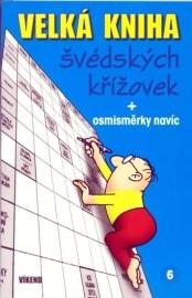 Velká kniha švédských křížovek + osmisměrky navíc 6