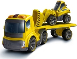 Silverlit Trailer Truck plus Bulldozer 81118