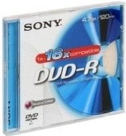 Sony 10DMR-47BSL DVD-R 4.7GB 10ks