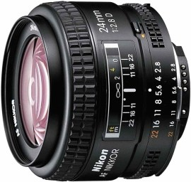 Nikon AF Nikkor 24mm f/2.8D A