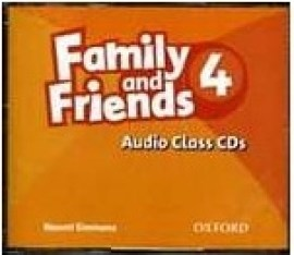 Family and Friends 4 - Audio Class CDs