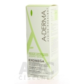 A-Derma Exomega Emollient Cleansing Oil 200 ml