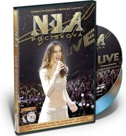 Nela Pocisková LIVE KONCERT /DVD + CD/