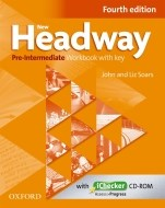 New Headway - Pre-Intermediate - Workbook  with key (Fourth edition) - cena, porovnanie