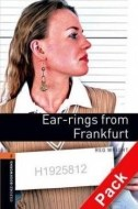 Oxford Bookworms Library 2 Ear-rings from Frankfurt + CD - cena, porovnanie