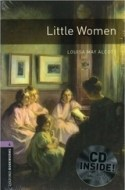 Oxford Bookworms Library 4 Little Women + CD - cena, porovnanie