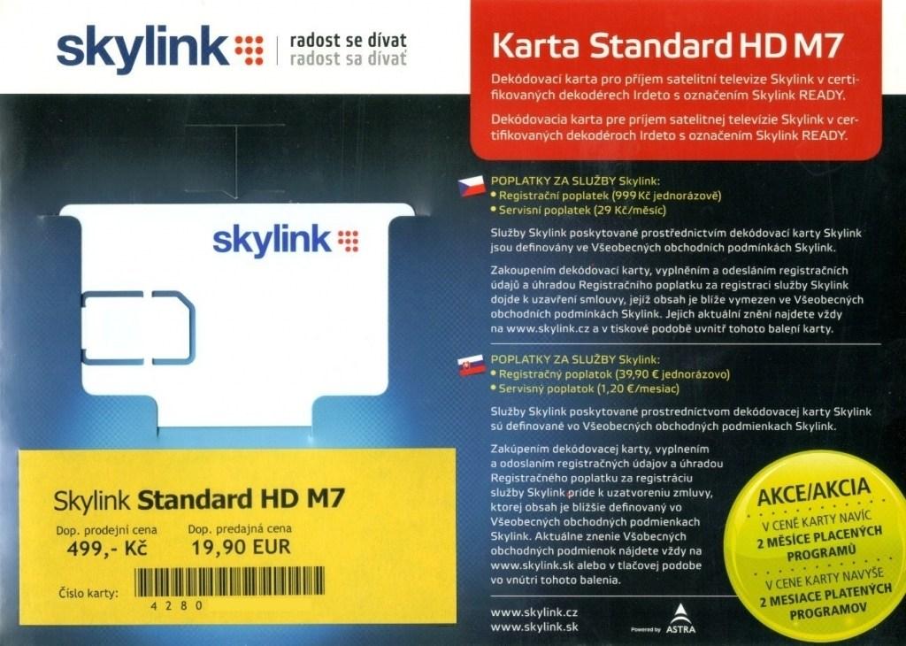 7e1086e27 Skylink Standard HD M7 od 13,55 € | Pricemania