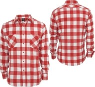 Urban Classics Checked Flanell