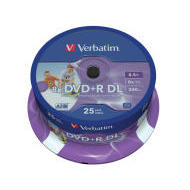Verbatim 43667 DVD+R DL 8.5GB 25ks