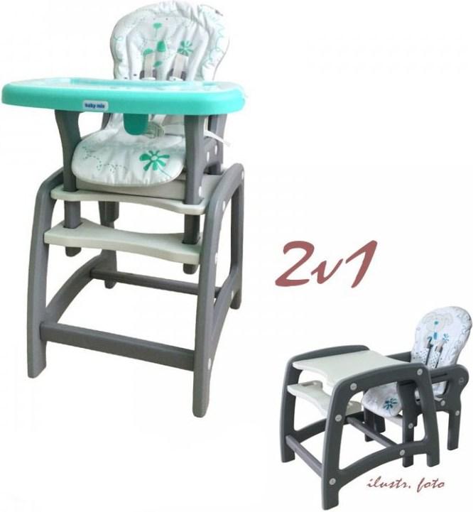 0e2beb000133 Baby Mix jedálenská stolička od 67