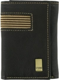 Storm Deacon Leather Tri-Fold