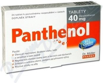 Dr. Muller Panthenol 40mg 24tbl od 2 b8ba517995a