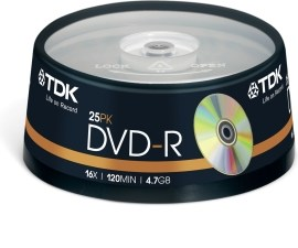 TDK t19443 DVD+R 4.7GB 25ks