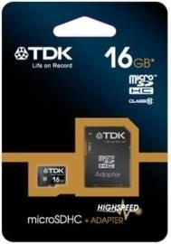 TDK Micro SDHC Class 10 16GB