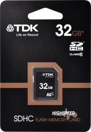 TDK SDHC Class 10 32GB