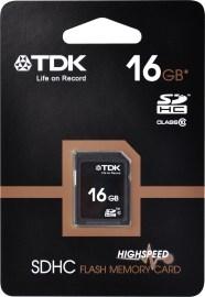 TDK SDHC Class 10 16GB