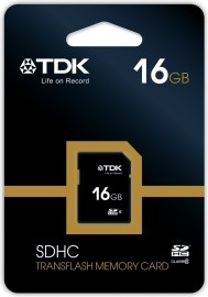 TDK SDHC Class 4 16GB