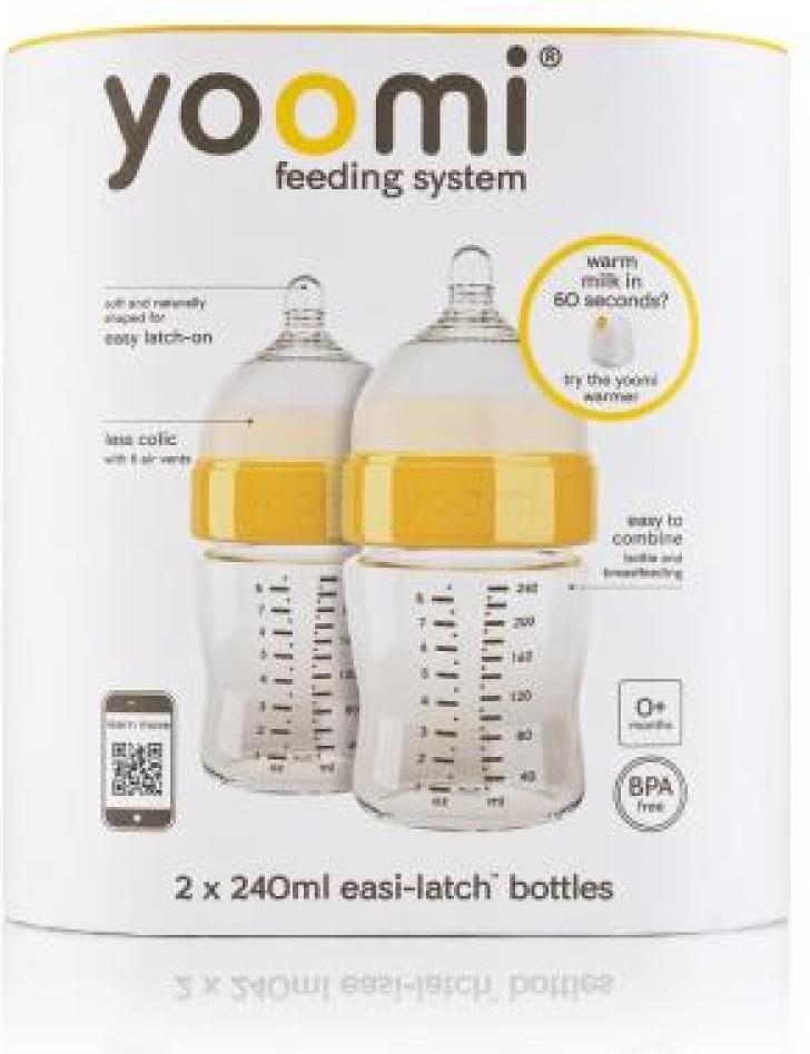 Yoomi Easy Latch Bottle 2x140ml  cb65fe63f87