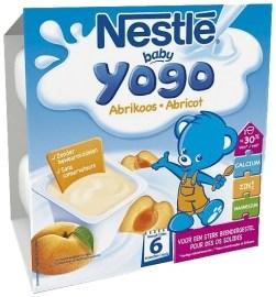 Nestlé Baby yogo 4x100g