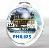 Philips H4 X-treme Vision P43t 60/55W 2ks