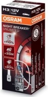 Osram H3 Night Breaker Unlimited PK22s 55W 1ks