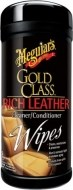 Meguiars Gold Class Rich Leather Wipes 25ks