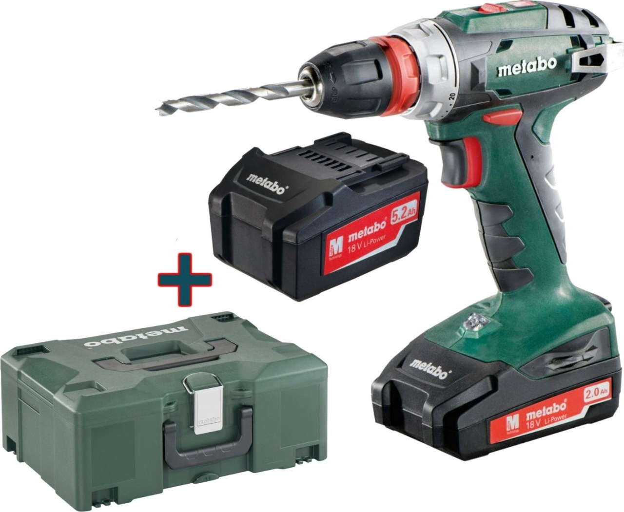 6dca9f9b90437 Metabo BS 18 Quick od 138,30 € | Pricemania