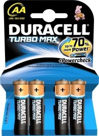 Duracell Turbo AA 4ks