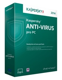 Kaspersky Anti-Virus 2015 CZ 5 PC 1 rok