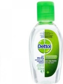 Reckitt Benckiser Dettol antibakteriálny gél na ruky 50ml