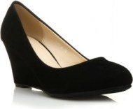 4Lover Velour Wedge Pumps Noir 17382