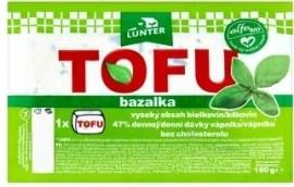 Alfa Bio Lunter Tofu bazalka 180g