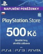 Sony PlayStation Live Cards 500 CZK