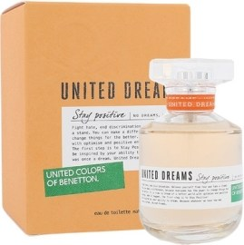 Benetton United Dreams Stay Positive 80ml