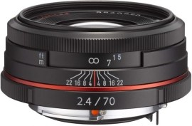 Pentax HD DA 70mm f/2.4 Limited