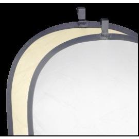 Walimex Foldable Reflector Gold Silver 91x122cm
