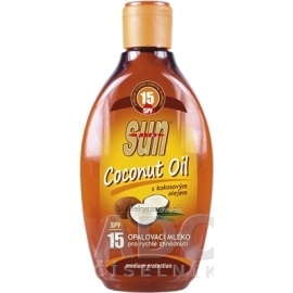Vivaco Sun Vital Coconut Oil SPF15 200ml
