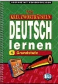 Mit Kreuzworträtseln Deutsch Lernen 1