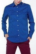 Gant Stretch Broadcloth Dot Print