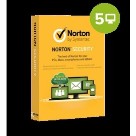 Symantec Norton Security Deluxe 2018 5 PC 1 rok