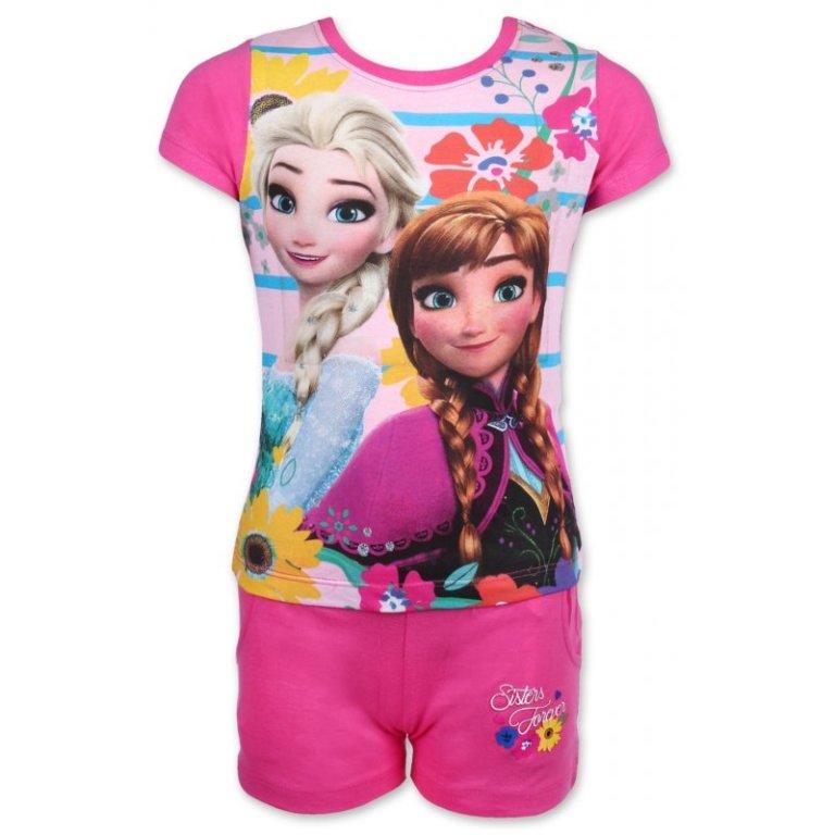 Setino Frozen dievčenský letný set od 12 b23f44fc52d