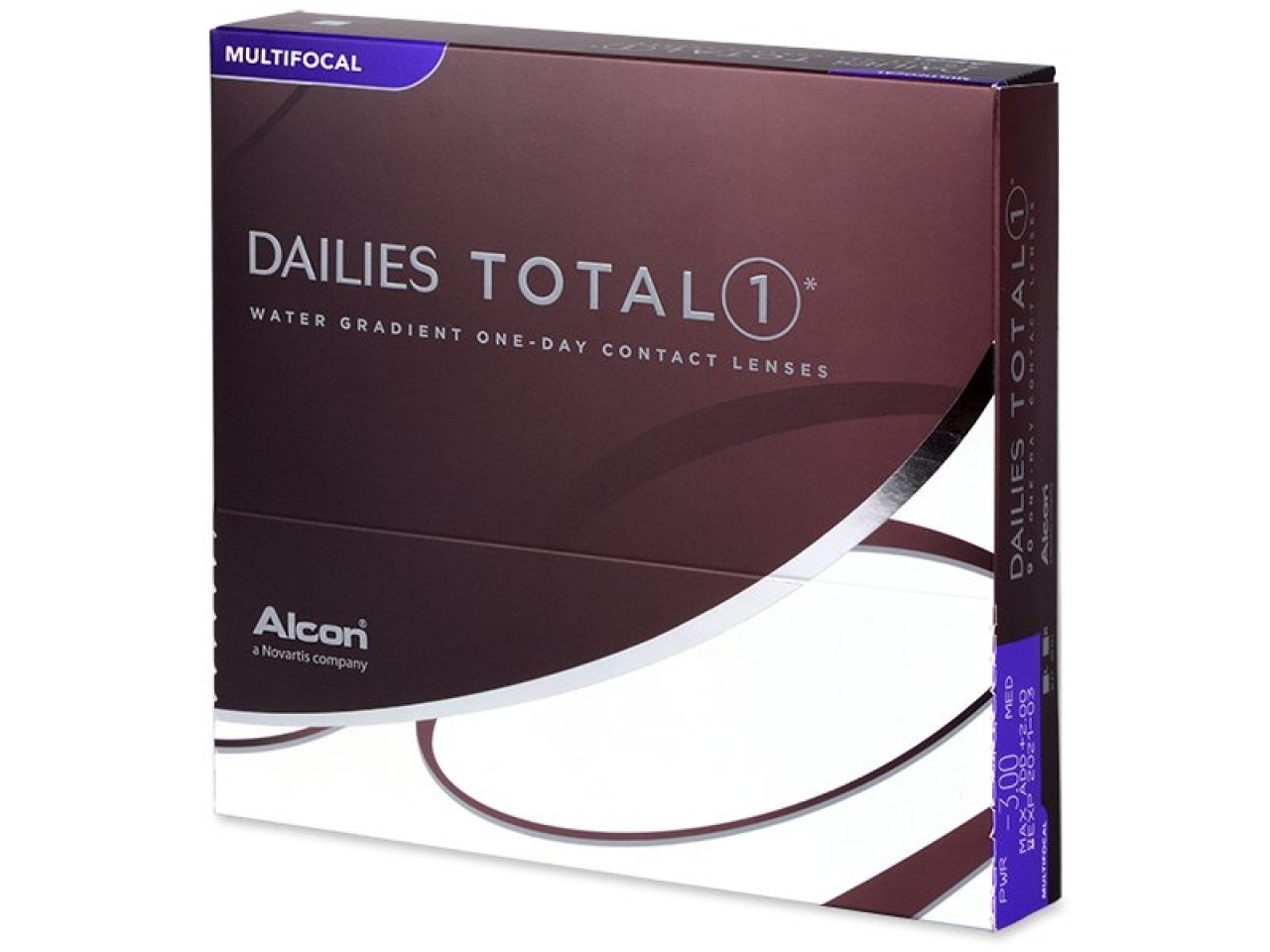 c26ea4d13 Alcon Pharmaceuticals Dailies Total 1 Multifocal 90ks od 93,89 ...