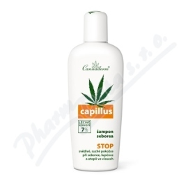 Cannaderm  aderm Capillus Šampón seborea  150ml