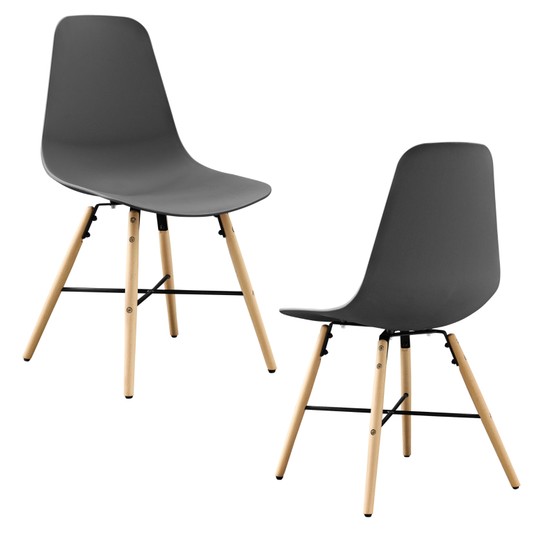 19d60179f38e En Casa Dizajnové stoličky 2 dielna sada 46x85.5cm od 53