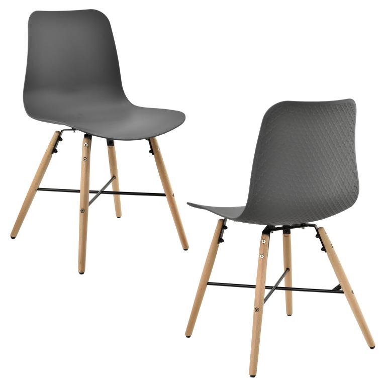 9e645cebc6b9 En Casa Dizajnová stolička 2ks 44.5x80cm