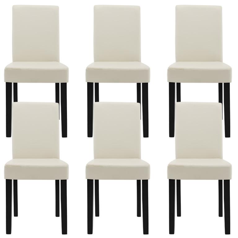 53800498fec08 En Casa Štýlové čalúnené stoličky 6ks od 235,60 € | Pricemania
