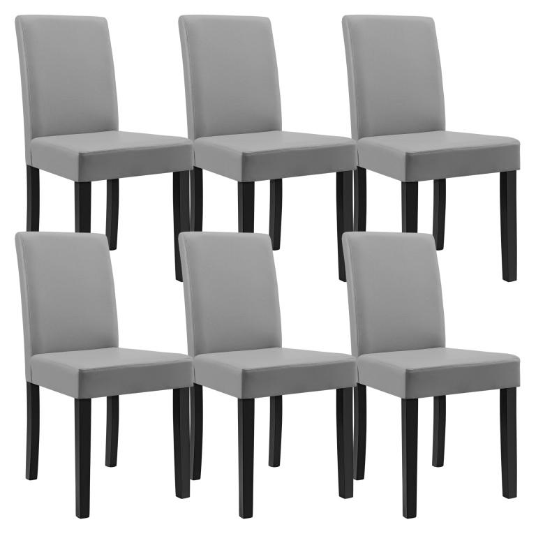 41123be343a87 En Casa Sada 6ks štýlových čalúnených stoličiek od 235,60 € | Pricemania
