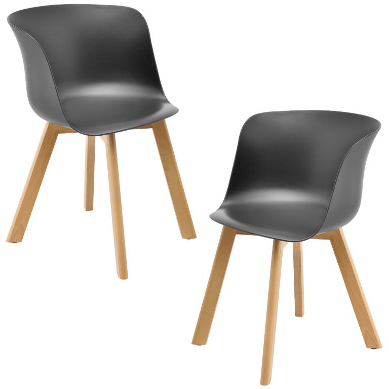 1616ff871bf6 En Casa Dizajnová stolička 2 ks 75x55.5cm od 92