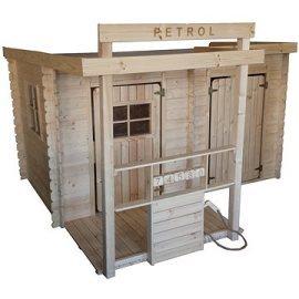 Cubs  Detský drevený domček - Petrol
